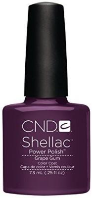CND Nail Products Cnd Shellac Power Polish Summer Splash Collection Grape Gum / CNDS0054 7.5 ml
