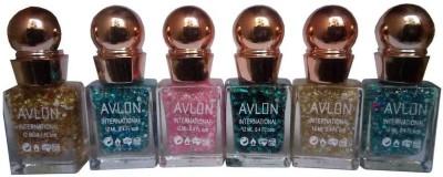 Avlon Glitter Nail Polish A.G.N.P-C6 12 ml