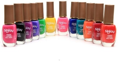 Foolzy Pack of 12 Disco Nail Polish Paint 72 ml