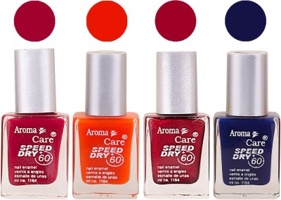Aroma Care Maroon Nail Polish Combo 2506201667 24 ml