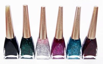 OSRS Pack of 6 Sparkling Nail Polish 12 ml
