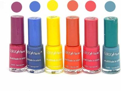 Color Fever Nail Polish Combo 1-13-14-33-34-35 N 30 ml