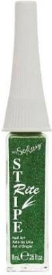 Its So Easy Stripe Rite Glitter Paint Green 8 ml