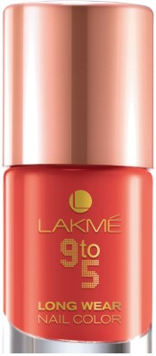 Lakme 9 To 5 Long Wear Nail Color 9 ml