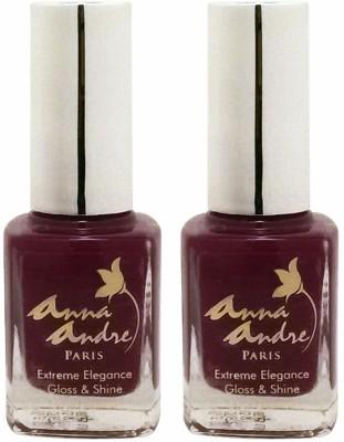Anna Andre Paris Set of 2 Nail Polishes 9 ml