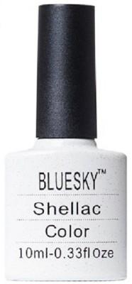 Bluesky Shellac Nail Polish 10 ml(Silver VIP Status)