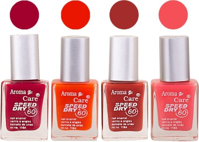 Aroma Care Maroon Nail Polish Combo 25062016110 24 ml