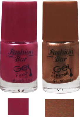 Fashion Bar Neon Nail Polish Combo 009 10 ml