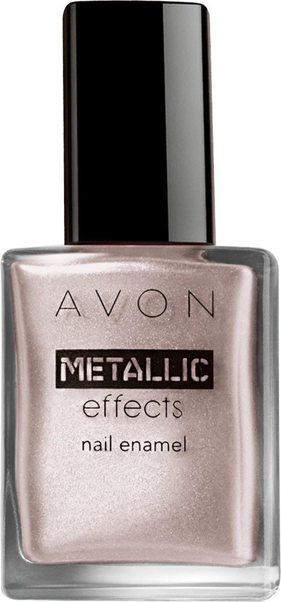 Avon Color Nail Enamel Metallic Effects Icy Purple(8 ml)