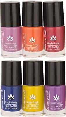 Aroma Care Mab Multi Color Nail polish Combo 634-637-576-44-28-36 30 ml
