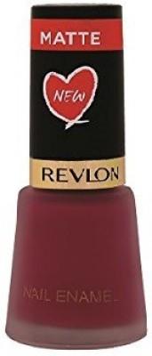 Revlon Nail Enamel Crimson Matte(8 ml)