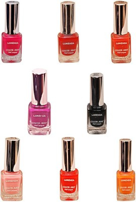 Lorenza Combo Set-20 Nail Lacquer (Pack Of 8) 15 ml