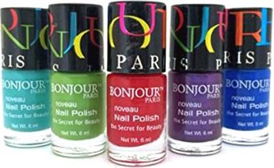 Bonjour Paris Mix Color Nail Polish 12 30 ml