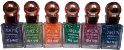 Avlon Glitter Nail Polish A.G.N.P-E6 12 ml