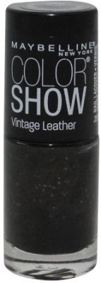 Maybeline New York NEW Color Show Vintage Leather Nail Polish - 875 Mod Moss 15 ml