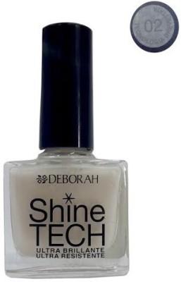 Deborah Milano Shine Tech Nail Enamel, 02, 8.5 ml