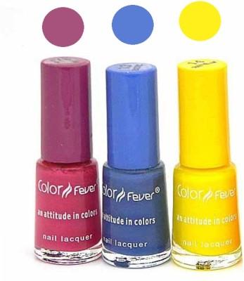 Color Fever Mini Nail Polish Combo 1-13-14 15 ml