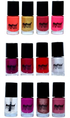 Max Fresh Valueable Nail Polish Combo 226 72 ml