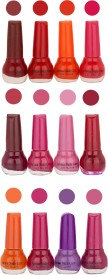 Aroma Care Bonsai Color Cap Nail Polish Combo (ST-04-08-09) 60 ml