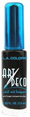 Art Deco Nail Art Black 081555549022 7.5 ml