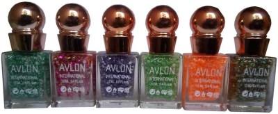 Avlon Glitter Nail Polish A.G.N.P-B6 12 ml