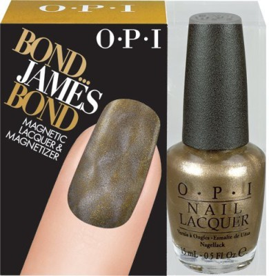 OPI HL D41 Bond... James Bond Magnetic Lacquer & Magnetizer 15 ml