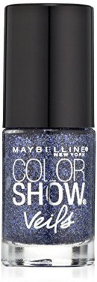 Maybeline New York Color Show Veils Nail Lacquer Top Coat, Amethyst Aura 15 ml