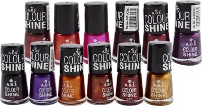 ADS COLOR SHINE DARKMIX GOOD CHOICE NAIL POLISH 7 ml(AD-02)