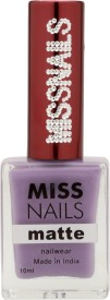 Miss Nails Matte Mauve 10 ml(Mauve)