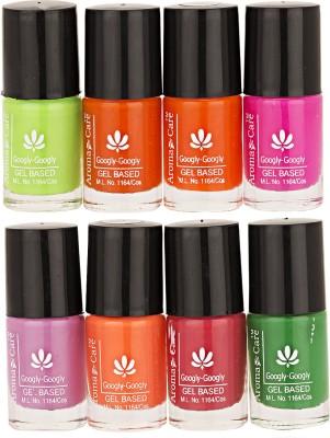 Aroma Care Mab Multi Color Nail polish Combo 01-02 40 ml