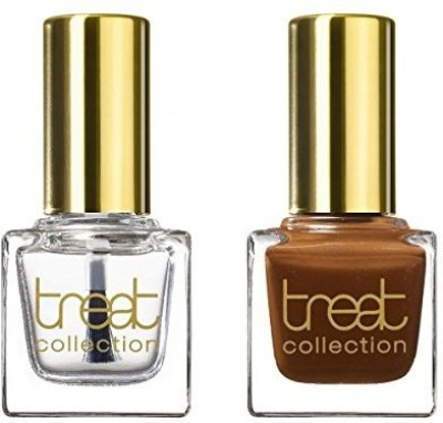 treat collection Natural Duo Top And Base Coat Chocolate Lover Count DUO09 15 ml