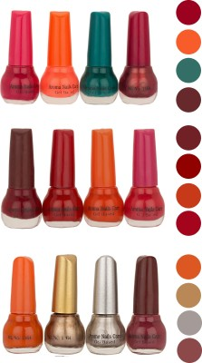 Aroma Care Bonsai Colour Cap Nail Polish Combo (ST-02-05-06) 60 ml