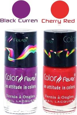Color Fever Matte Nail Polish Combo 255 18 ml