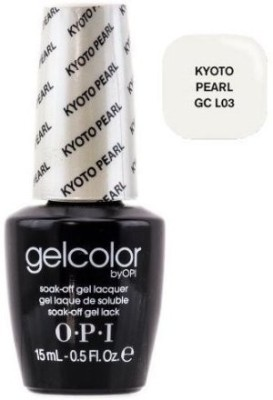 OPI GelColor by Soak-Off Gel Laquer nail polish - Kyoto Pearl - GC L03 15 ml