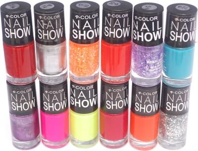 V-Color Nail Show 72 ml(Multicolor Set 10)