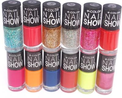 V-Color Nail Show 72 ml(Multicolor Set 12)
