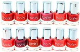 Foolzy Set of 12 Nail Polish 120 ml