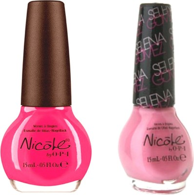opi Nicole Pack Of 2 30 ml(Still into pink ni 409, naturally ni g11)