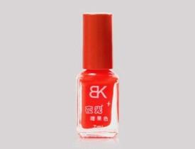 BK Glow in Dark Radium Red Orange Vermilion Nail Polish Varnish Fluorescent Neon Luminous - 19 7 ml