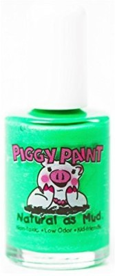 Piggy Paint Non Toxic Project Earth Eat Your Peace Neon Green 15 ml