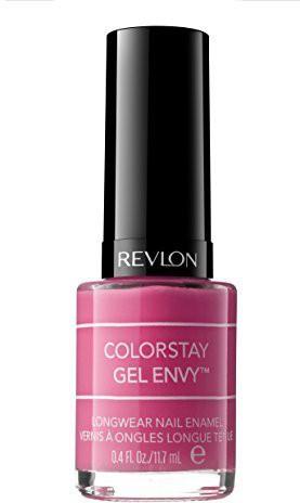 Revlon Colorstay Gel Envy Longwear Nail Enamel Hot Hand ) ColorStay Gel Envy Dark(12 ml)