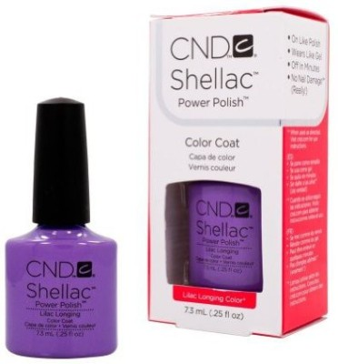 CND Cosmetics Cnd Shellac Spring Sweet Dreams Collection Lilac Longing Gel Uv 7.3 ml