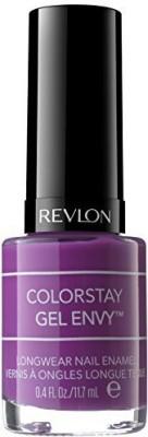 Revlon Colorstay Gel Envy Longwear Nail Enamel Up The Ante ) ColorStay Gel Envy 12 ml(Dark)