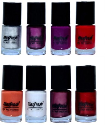 Max Fresh Matt Nail Polish Combo 124 48 ml