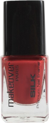 Makeover Professional Nail Paint Red Brown 9 ml(Red Brown)