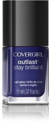 Covergirl Outlast Stay Brilliant Nail Gloss Sapphire Flare 0 NA 11.1 ml