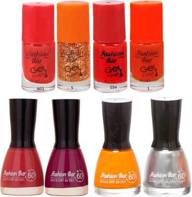 Fashion Bar Neon Shades 248 Nail polishes Combo 56 ml
