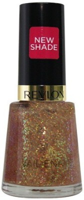 Revlon Glitzy Nights Nail Enamel Glaze, 8 ml(Peach)