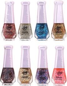 Lady Fashion Trendy Nail Polish 21131 80 ml(Multicolor,)