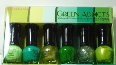 Kleancolor Mini Collection Green Addicts Npc 15 ml